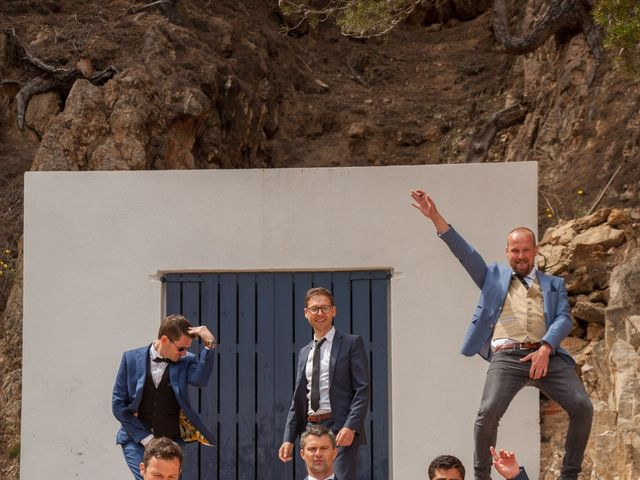 La boda de Kenneth y Sophie en Regencos, Girona 12