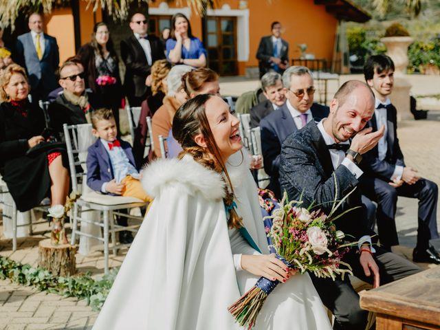 La boda de Pablo y Paula en San Agustin De Guadalix, Madrid 121