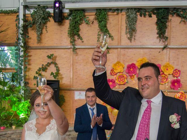 La boda de David y Sonia en Venta Del Pobre, Almería 4