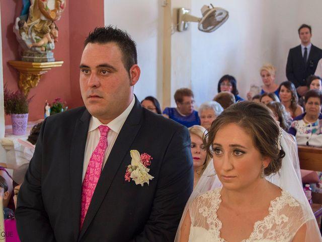 La boda de David y Sonia en Venta Del Pobre, Almería 12