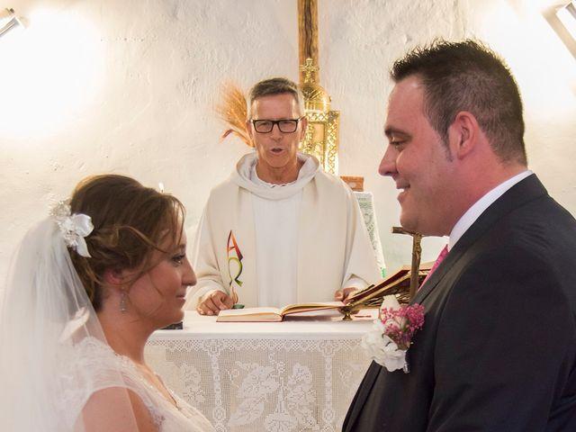 La boda de David y Sonia en Venta Del Pobre, Almería 13