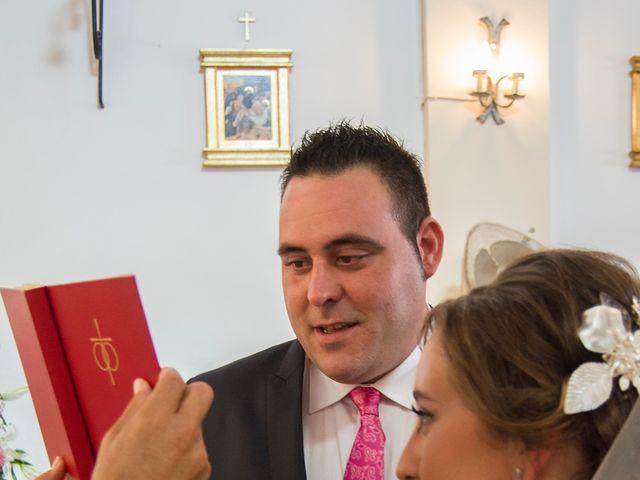 La boda de David y Sonia en Venta Del Pobre, Almería 14