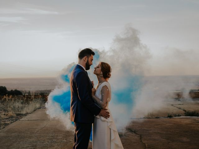 La boda de Jose y Luna en Otero De Herreros, Segovia 256