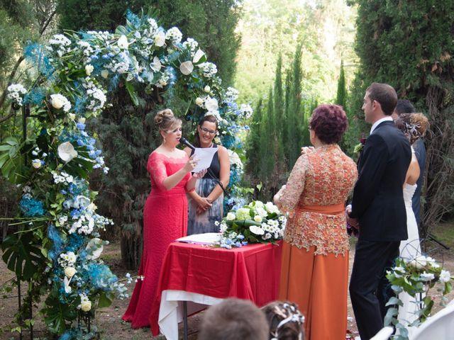 La boda de Vicente y Marta en Alborache, Valencia 28