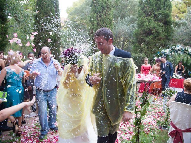 La boda de Vicente y Marta en Alborache, Valencia 31