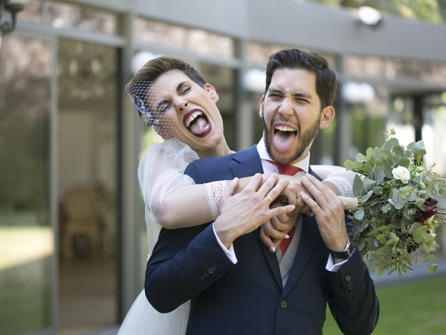 La boda de Santi y Gracia en Las Rozas De Madrid, Madrid 17
