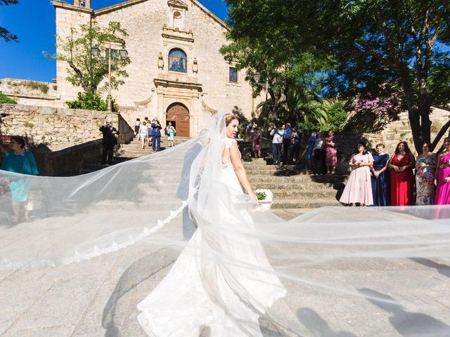 La boda de Oscar y Almudena en Valencia De Alcantara Ff.Cc., Cáceres 7