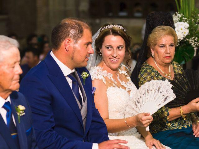 La boda de Oscar y Almudena en Valencia De Alcantara Ff.Cc., Cáceres 8