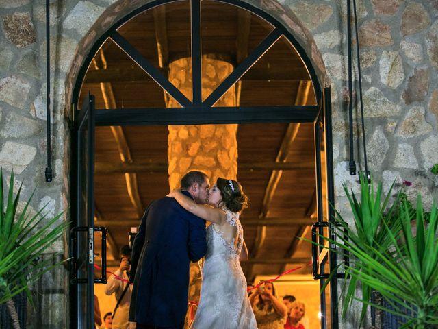 La boda de Oscar y Almudena en Valencia De Alcantara Ff.Cc., Cáceres 18