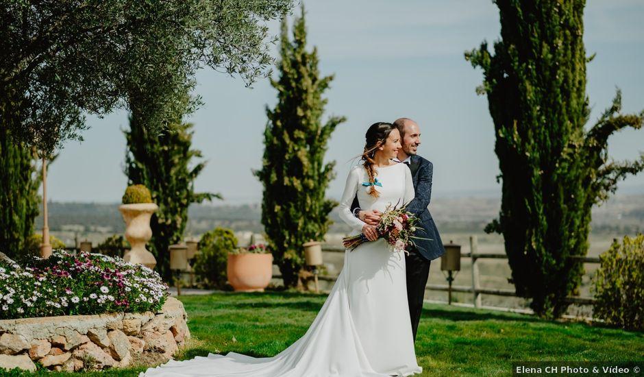 La boda de Pablo y Paula en San Agustin De Guadalix, Madrid