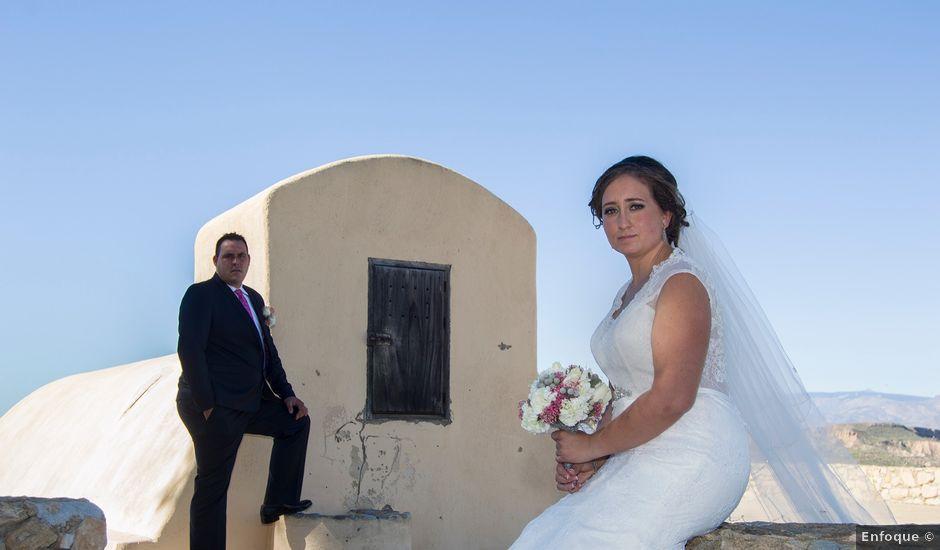 La boda de David y Sonia en Venta Del Pobre, Almería