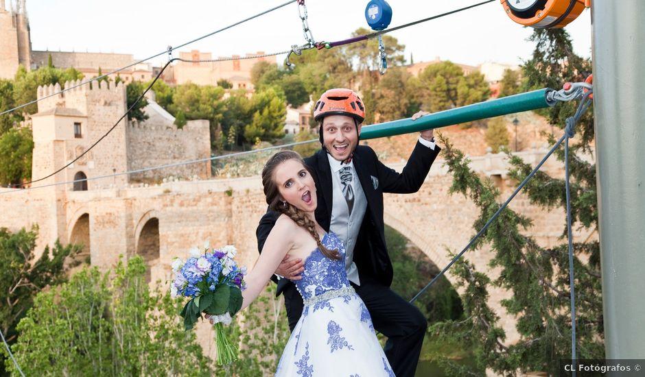 La boda de Marcos y Alicia en Toledo, Toledo