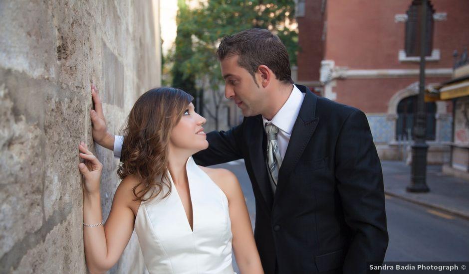 La boda de Vicente y Marta en Alborache, Valencia