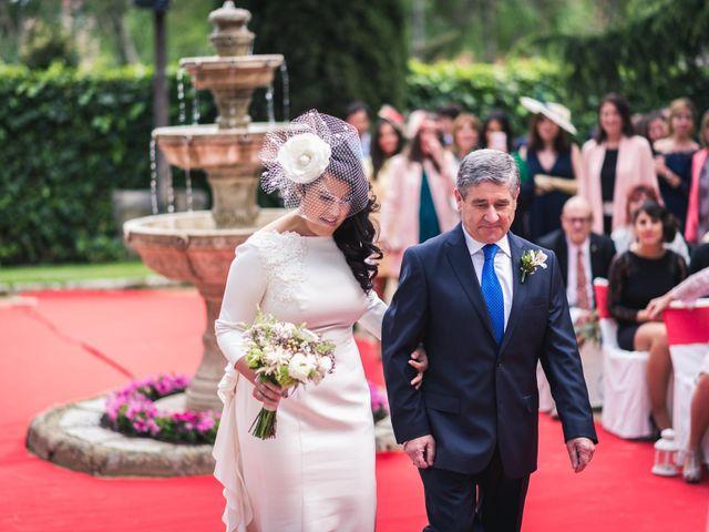 La boda de Angel y Julia en Torrelodones, Madrid 13