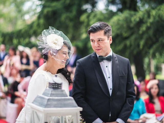 La boda de Angel y Julia en Torrelodones, Madrid 14