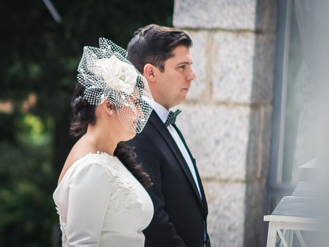 La boda de Angel y Julia en Torrelodones, Madrid 17