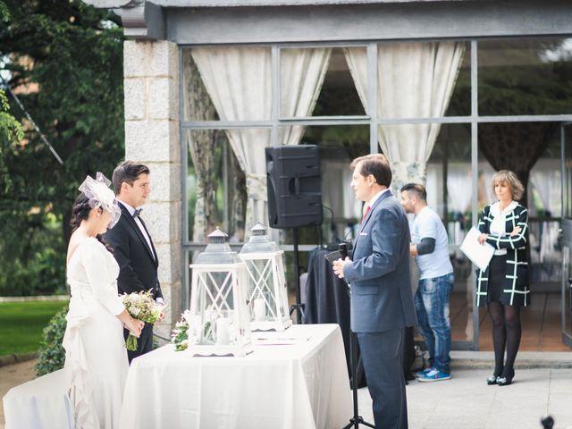 La boda de Angel y Julia en Torrelodones, Madrid 19