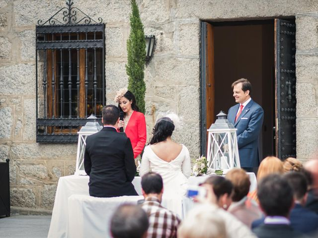 La boda de Angel y Julia en Torrelodones, Madrid 20