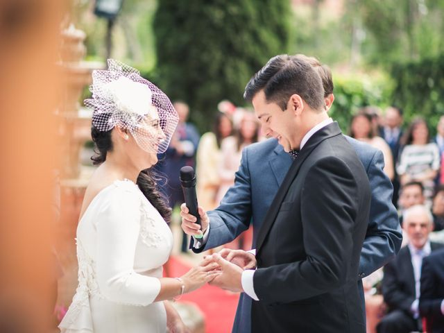 La boda de Angel y Julia en Torrelodones, Madrid 25