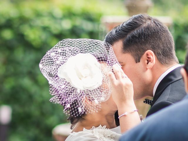 La boda de Angel y Julia en Torrelodones, Madrid 26