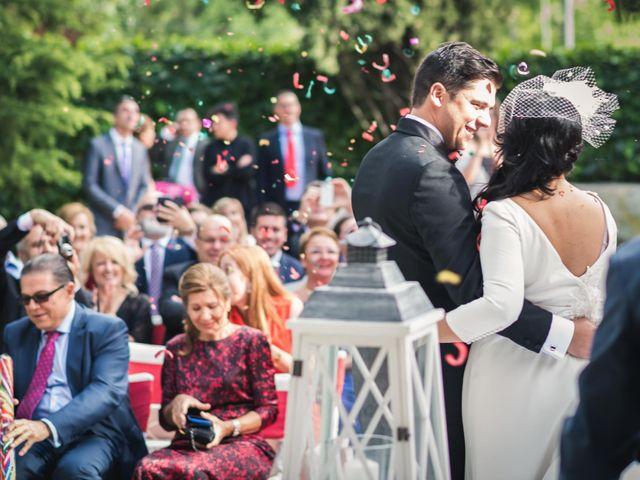 La boda de Angel y Julia en Torrelodones, Madrid 32