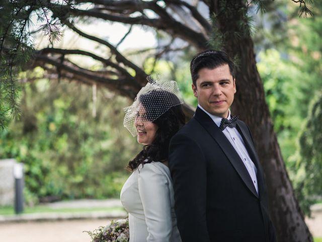 La boda de Angel y Julia en Torrelodones, Madrid 54