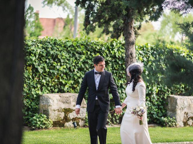 La boda de Angel y Julia en Torrelodones, Madrid 56