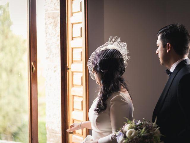 La boda de Angel y Julia en Torrelodones, Madrid 62