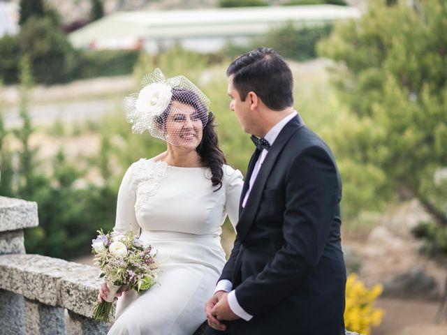 La boda de Angel y Julia en Torrelodones, Madrid 71