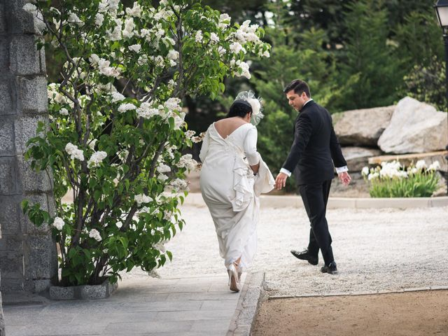 La boda de Angel y Julia en Torrelodones, Madrid 78