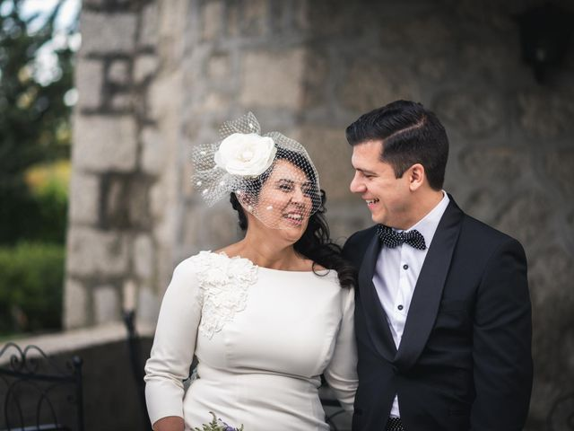 La boda de Angel y Julia en Torrelodones, Madrid 82
