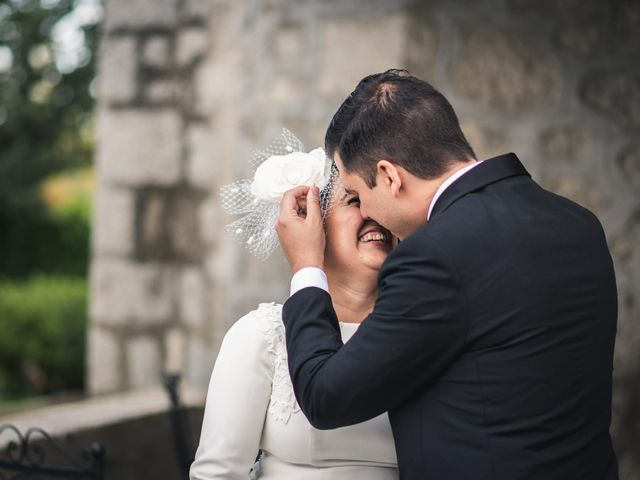 La boda de Angel y Julia en Torrelodones, Madrid 84