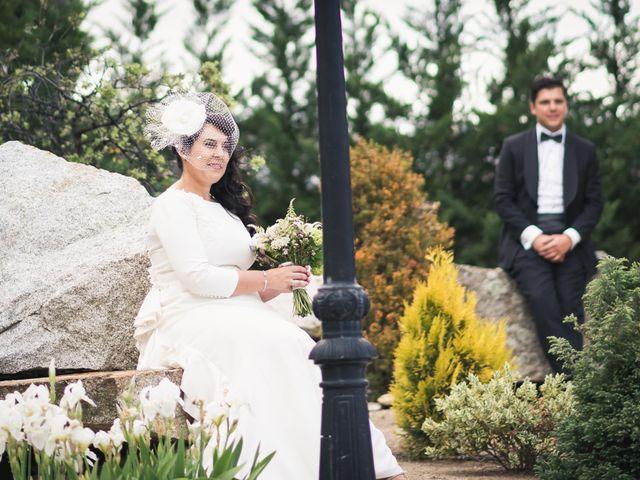 La boda de Angel y Julia en Torrelodones, Madrid 87