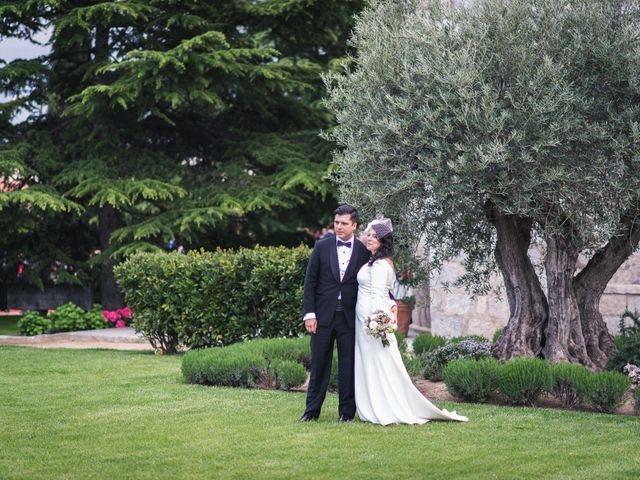 La boda de Angel y Julia en Torrelodones, Madrid 89
