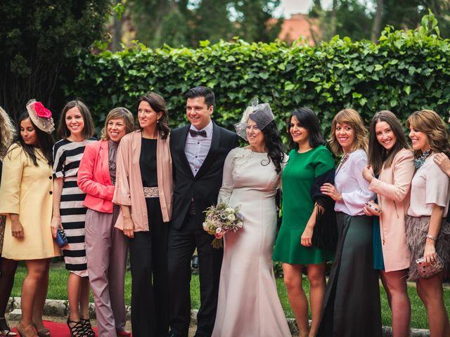 La boda de Angel y Julia en Torrelodones, Madrid 91