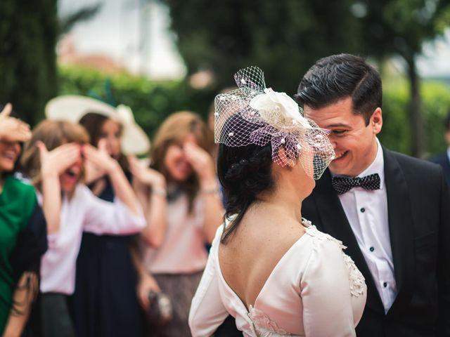 La boda de Angel y Julia en Torrelodones, Madrid 93