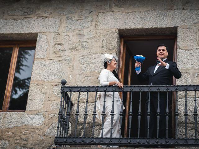 La boda de Angel y Julia en Torrelodones, Madrid 101