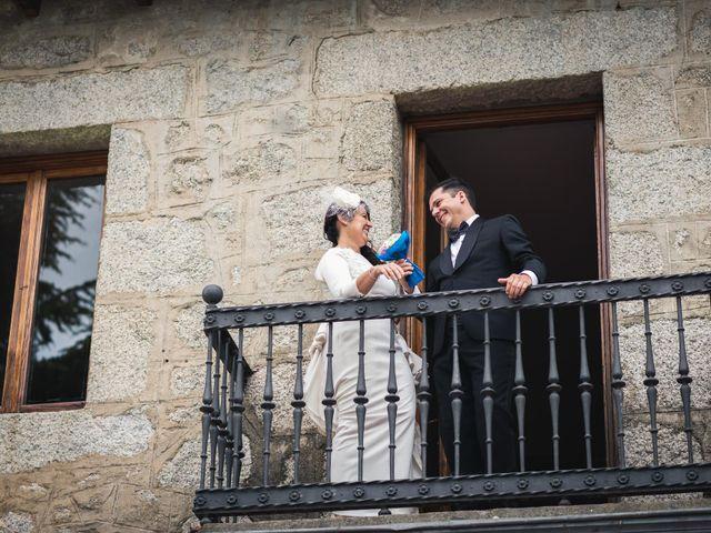 La boda de Angel y Julia en Torrelodones, Madrid 103