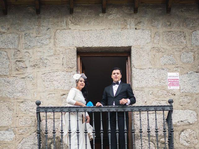 La boda de Angel y Julia en Torrelodones, Madrid 104