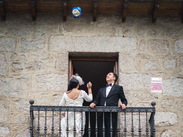La boda de Angel y Julia en Torrelodones, Madrid 105
