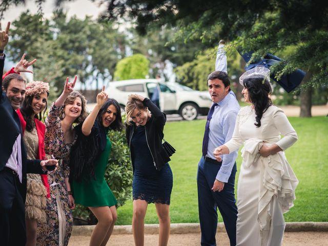 La boda de Angel y Julia en Torrelodones, Madrid 1
