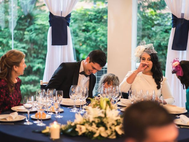 La boda de Angel y Julia en Torrelodones, Madrid 114