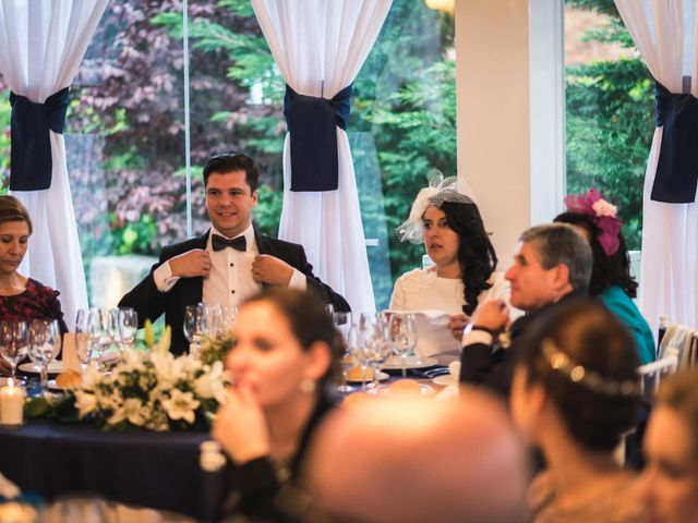La boda de Angel y Julia en Torrelodones, Madrid 115