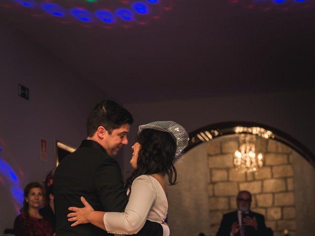 La boda de Angel y Julia en Torrelodones, Madrid 142