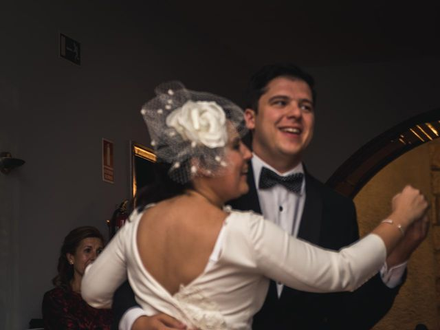 La boda de Angel y Julia en Torrelodones, Madrid 143