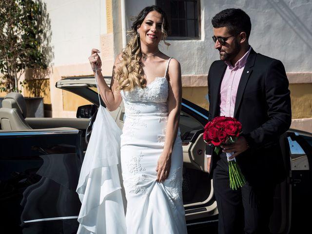 La boda de Juanra y Luciene en La/villajoyosa Vila Joiosa, Alicante 34