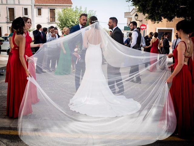 La boda de Juanra y Luciene en La/villajoyosa Vila Joiosa, Alicante 43