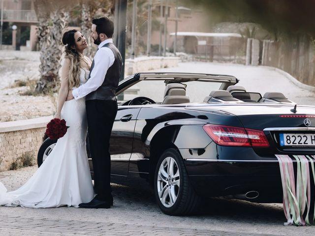 La boda de Juanra y Luciene en La/villajoyosa Vila Joiosa, Alicante 62