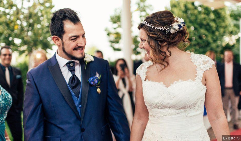 La boda de Omar y Paola en Carranque, Toledo