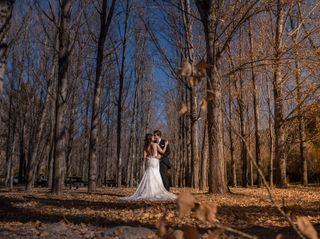 La boda de Zahida y Pau